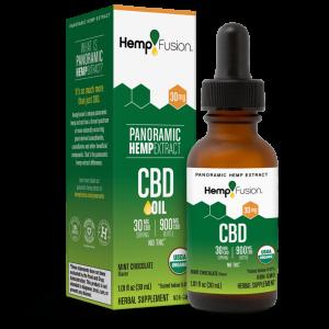 30 mg CBD Tincture - USDA Organic Certified