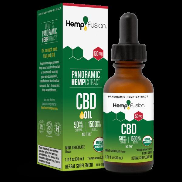 50 mg CBD Tincture - USDA Organic Certified