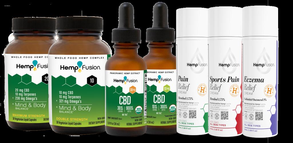 Buy CBD Oil, CBD Products Online | HempFusion